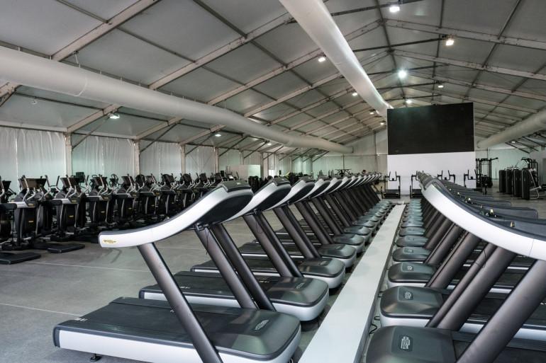 Une salle de fitness (illustration)