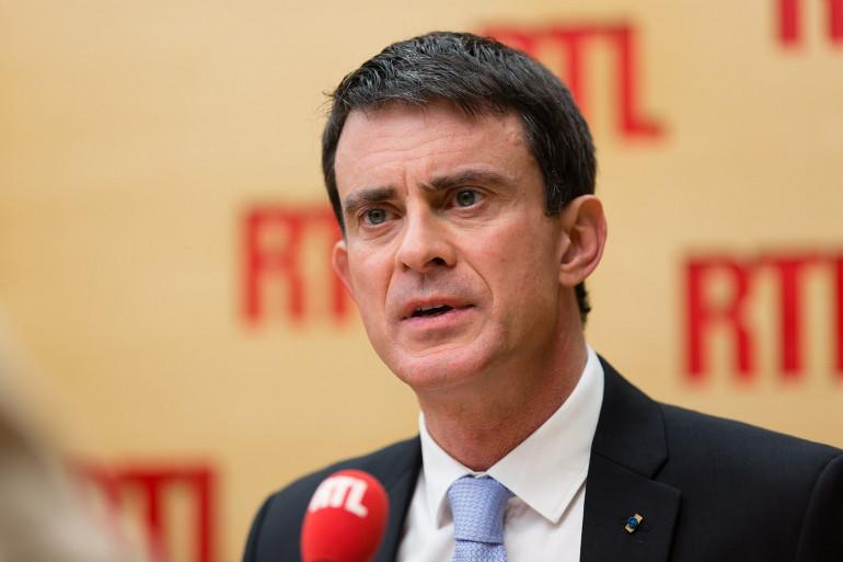 Manuel Valls, invité de RTL, lundi 23 janvier 2017
