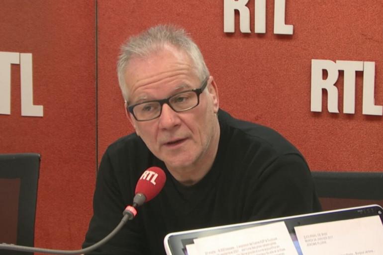 Thierry Frémaux invité ce matin sur RTL