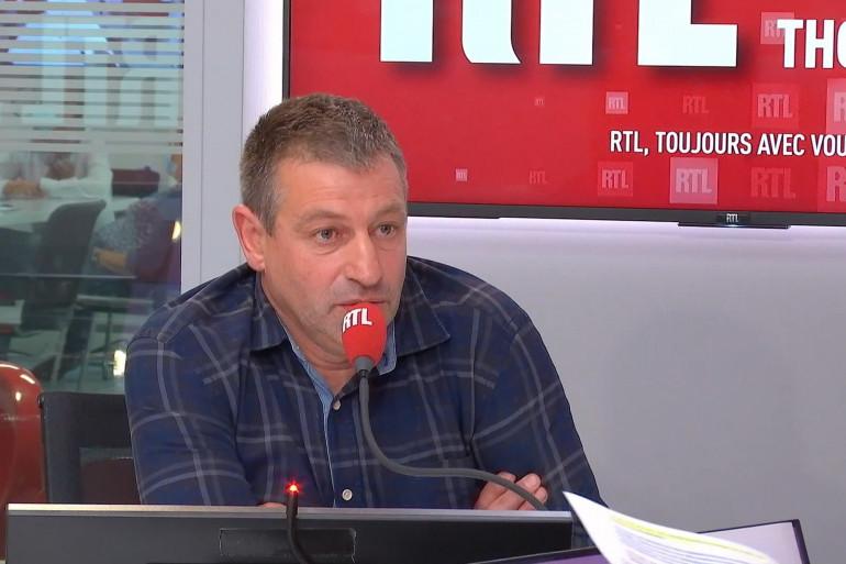"""Denis Pommier, viticulteur et auteur du livre """"Les Larmes de ma vigne"""""""