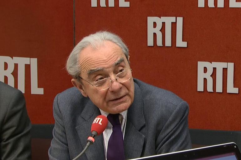 Bernard Debré, député de Paris, au micro de RTL le 25 janvier 2017