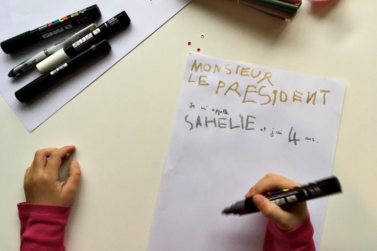 Sahéli écrit une lettre à Emmanuel Macron pour lui expliquer sa situation