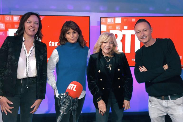 Jade, Faustine Bollaert, Nicoletta et Eric Dussart