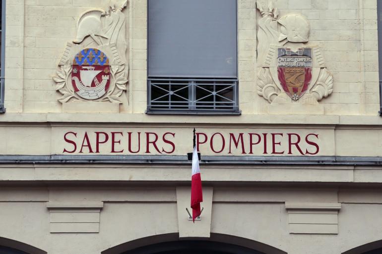 Une caserne de pompiers à Paris.
