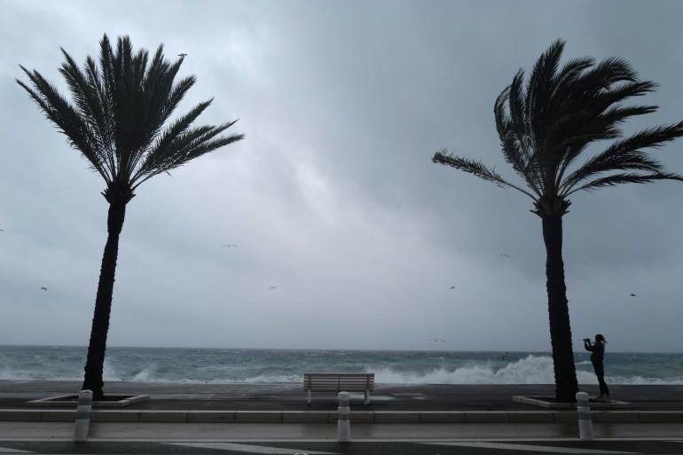 La tempête Alex, dans les Alpes-Maritimes (illustration)
