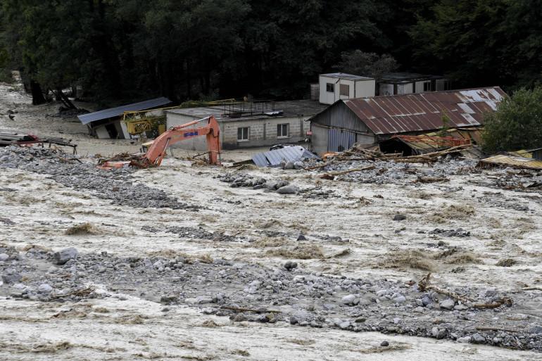 La tempête Alex a violemment frappé les Alpes-Maritimes (illustration)