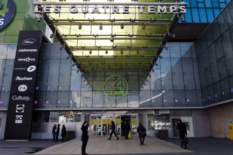 Le centre commercial des Quatre Temps à la Défense
