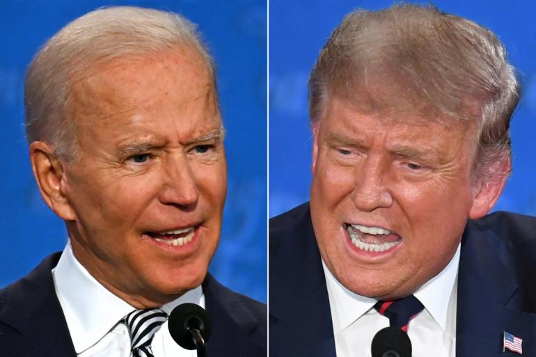 Joe Biden et Donald Trump, lors du premier débat de la présidentielle américaine