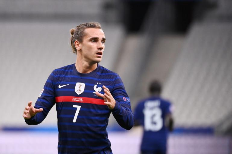 Antoine Griezmann au Stade de France le 8 septembre 2020