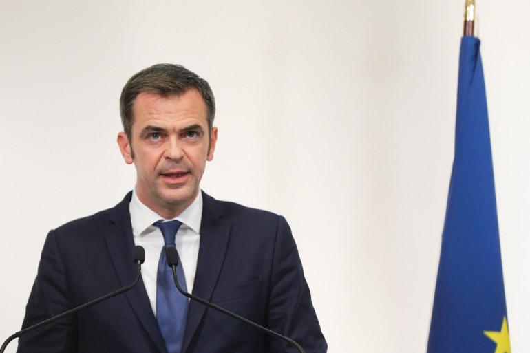 Olivier Véran, en conférence de presse, au ministère de la Santé, le 8 octobre 2020.