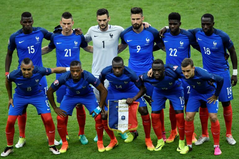 Le 11 de départ de la France face au Portugal le 10 juillet 2016 à Saint-Denis