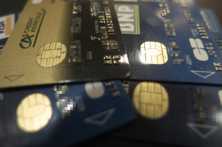 Le montant des fraudes sur les paiements par carte bancaire a augmenté en 2013 (illustration)