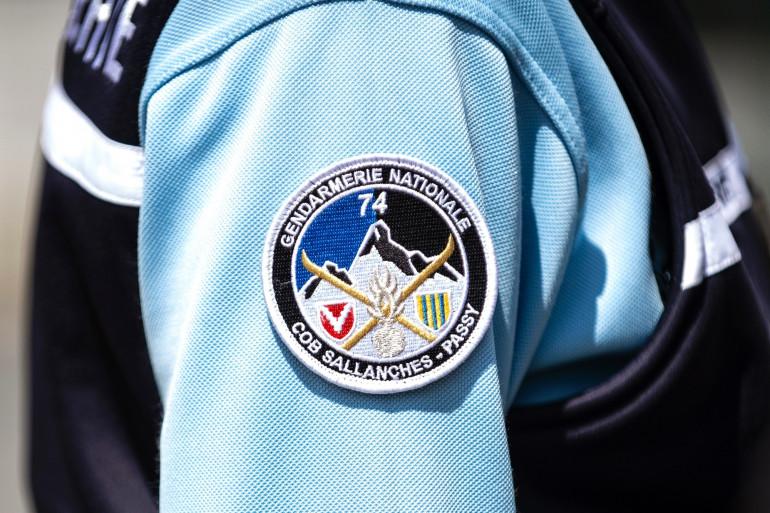 Un officier de la gendarmerie française (illustration)