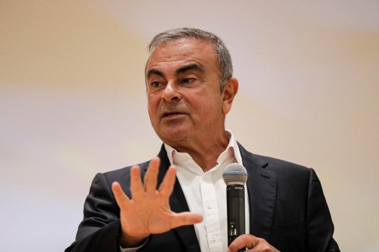 Carlos Ghosn à Jounieh (Liban), le 29 septembre 2020.