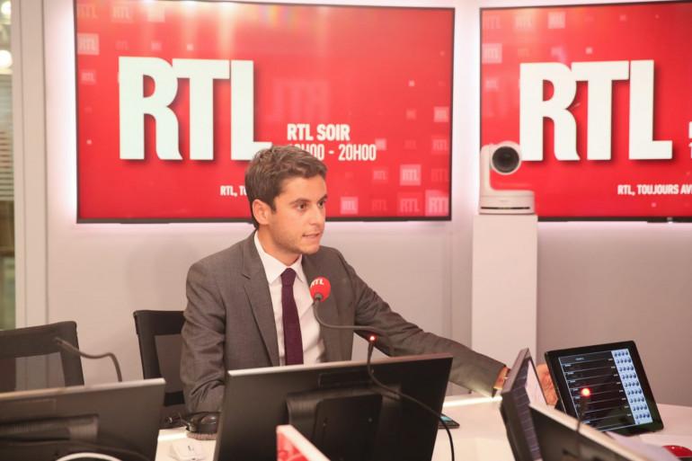 Gabriel Attal sur RTL le 12 octobre 2020