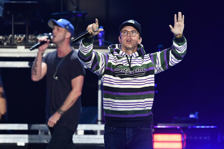 Le rappeur Logic, sur scène en 2018