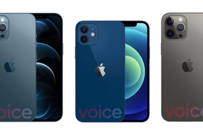 Visuel de l'iPhone 12 publié par Evan Blass