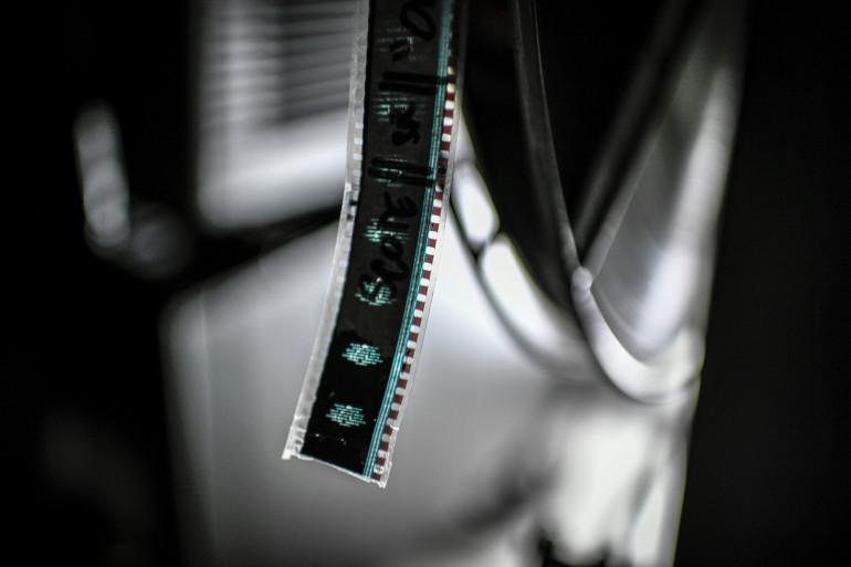 Une bobine de films (Illustration.)