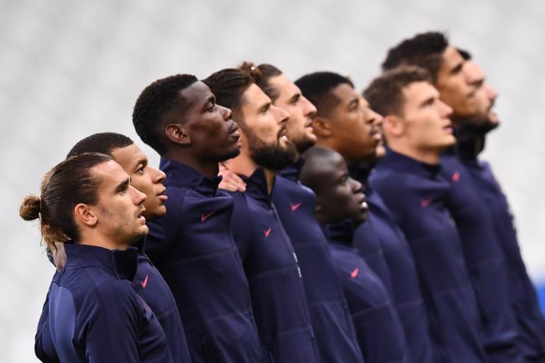 Les Bleus au Stade de France avant de défier le Portugal le 11 octobre 2020