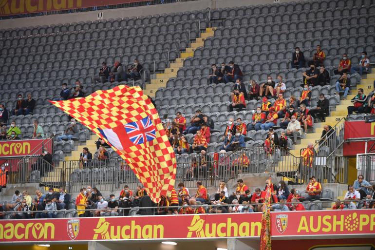 Des supporters de Lens au stade Félix-Bollaert le 10 septembre 2020