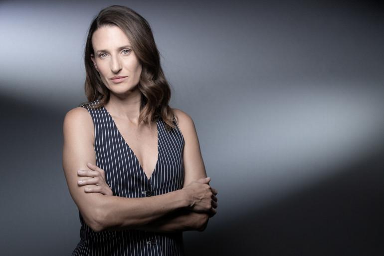 Camille Cottin au Festival Canneseries. le 12 octobre 2020