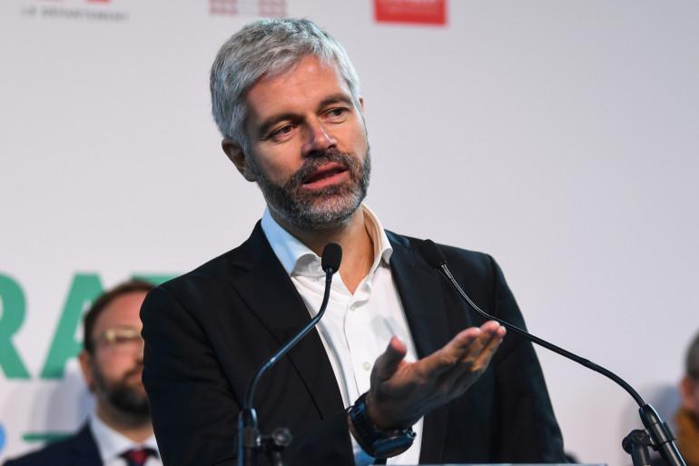 Laurent Wauquiez à Chambéry le 8 novembre 2019
