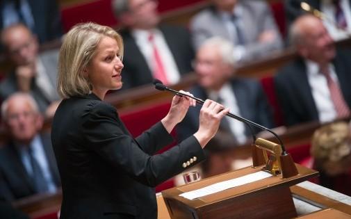 Barbara Pompili à l'Assemblée nationale, le 2 octobre 2012
