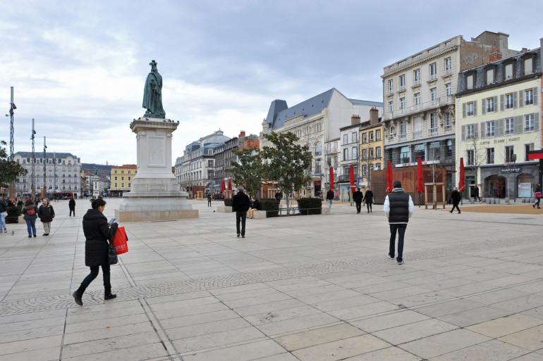 La place de Jaude, à Clermont-Ferrand (illustration)