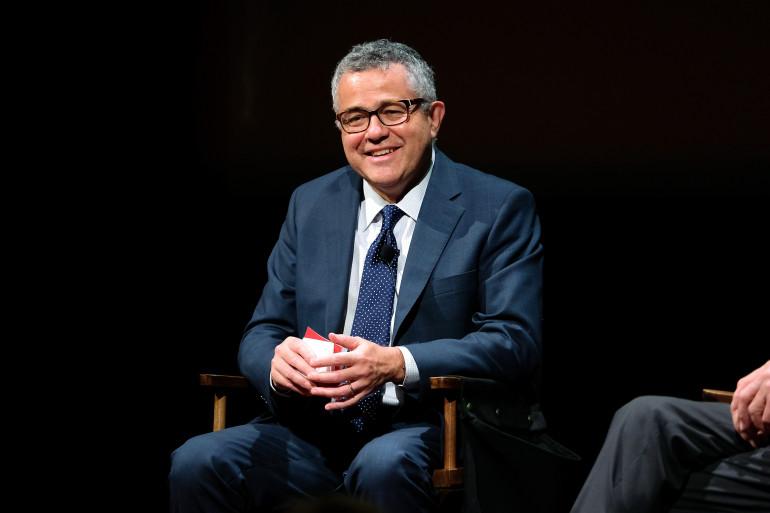 Le journaliste Jeffrey Toobin à New York en 2016