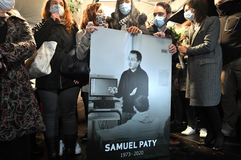 Samuel Paty a été assassiné vendredi 16 octobre 2020