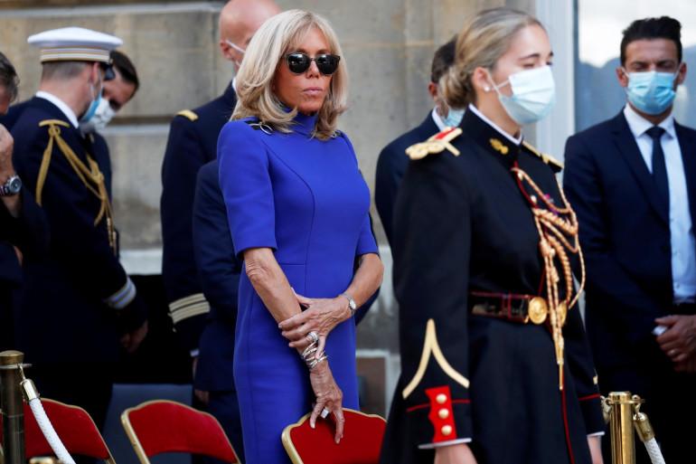 Brigitte Macron, le 13 octobre