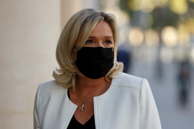 Marine Le Pen, le 22 septembre 2020