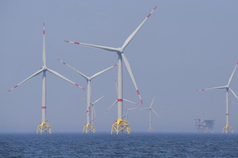 En Allemagne, contrairement à la France, les projets éoliens en mer sont implantés depuis plusieurs années.