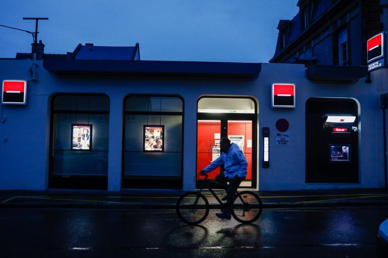 Un vélo de nuit à Ouistreham (illustration)