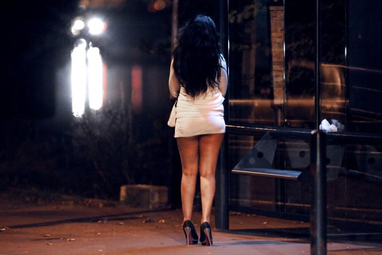 Une prostituée (illustration).
