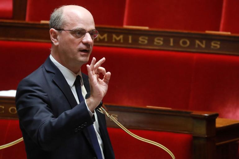 Jean-Michel Blanquer, à l'Assemblée nationale