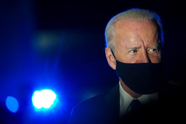 Joe Biden lors du débat télévisé du 22 octobre 2020