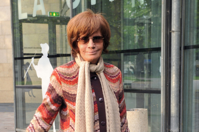 La réalisatrice, Nadine Trintignant, le 5 mai 2009 à Paris (photo d'Archives).