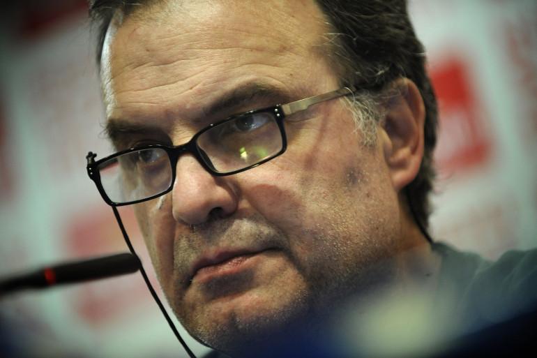 Marcelo Bielsa, entraîneur de Bilbao, le 24 mai 2012 (archives)