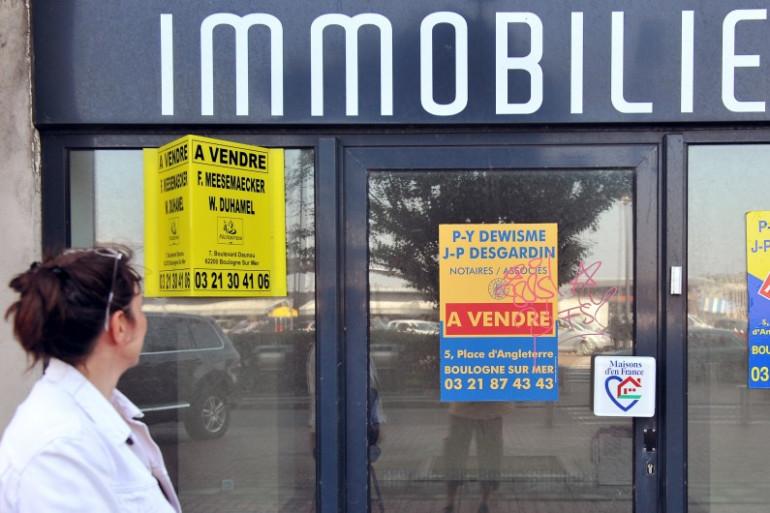 La méfiance des consommateurs s'exprime majoritairement à l'égard des agents immobiliers. 83% des Français ne leur font pas confiance (photo illustration).