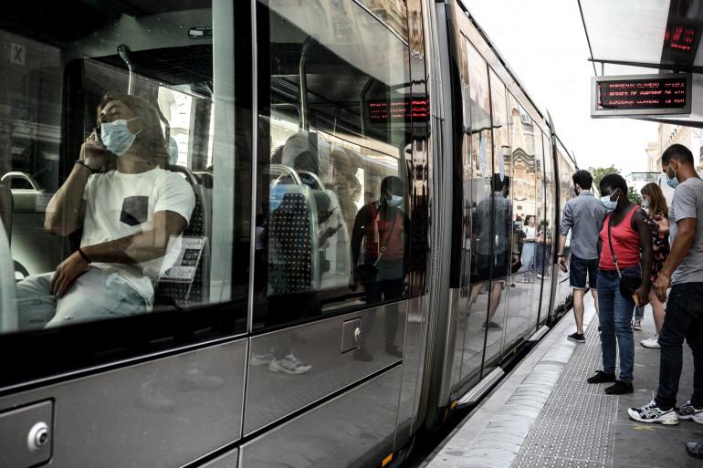 Un tramway à Bordeaux (illustration)