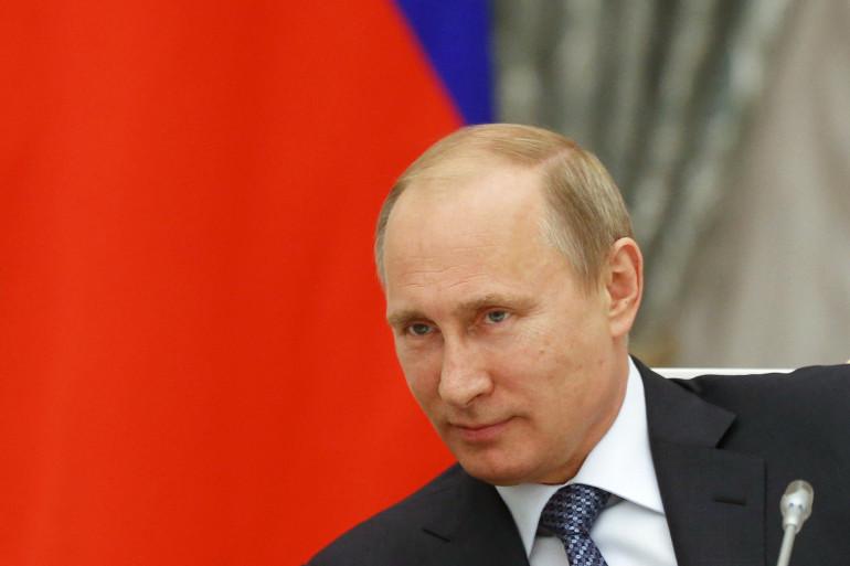 Le président russe Vladimir Poutine, le 7 mai 2014 à Moscou