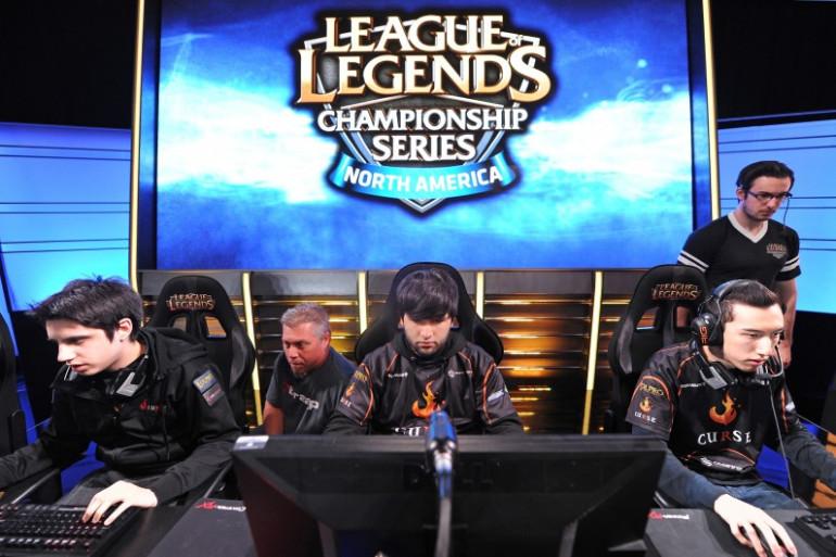 Un championnat de League of Legends à Manhattan Beach (Californie) le 22 février 2014 (archives)