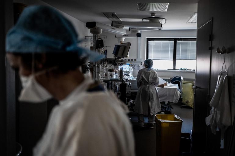 Le personnel médical d'un hôpital, pendant la crise du coronavirus (illustration)