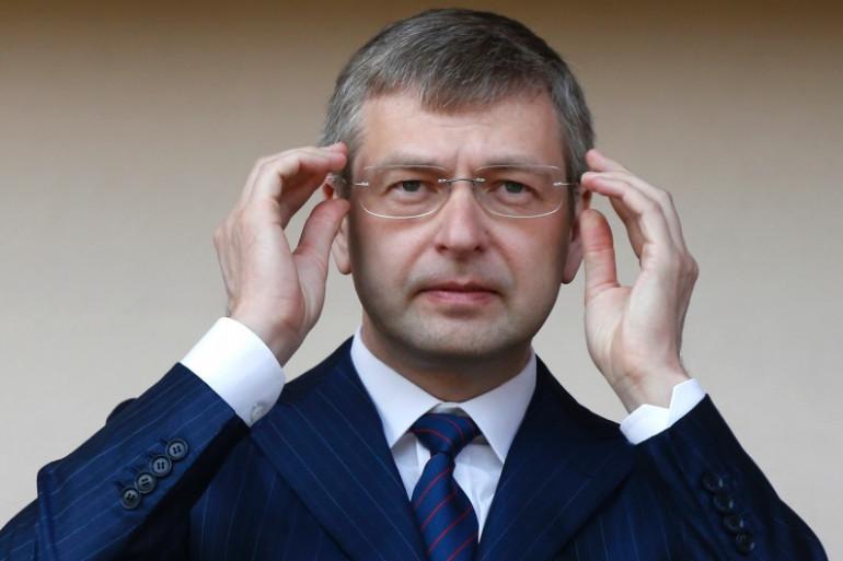Le patron russe de l'AS Monaco, Dmitry Rybolovlev, le 4 mai 2013 à Louis II.