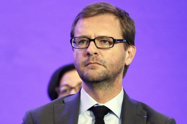 L'eurodéputé UMP, Jérôme Lavrilleux, le 24 avril 2014 à Paris (Archives).