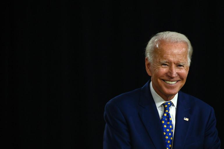 Le démocrate Joe Biden, le 28 juillet 2020, à Wilmington dans le Delaware