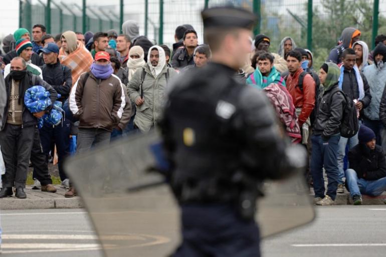 La police avait évacué mercredi 28 mai les camps de migrants clandestins installés à Calais (Archives).