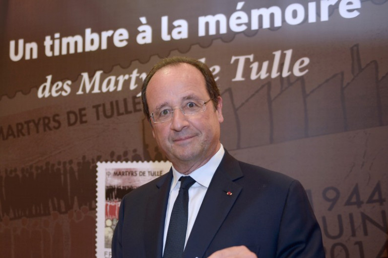 Le président de la République, François Hollande, le lundi 9 juin à Tulle (Corrèze).