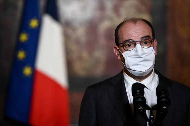 Le Premier ministre Jean Castex, le 29 octobre 2020 à Paris.